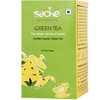 Sache Wellness Organic Green Tea Bag
