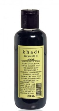 Khadi Hair Growth Tulsi Oil