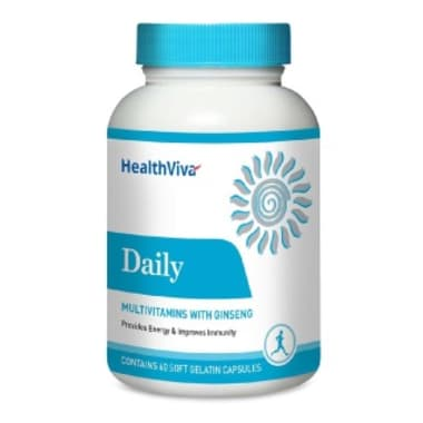 HealthViva Daily Multivitamin with Ginseng Capsule