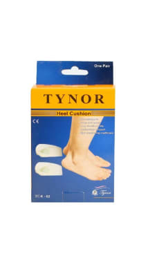 Tynor K-02 Heel Cushion Silicon (Pair) M