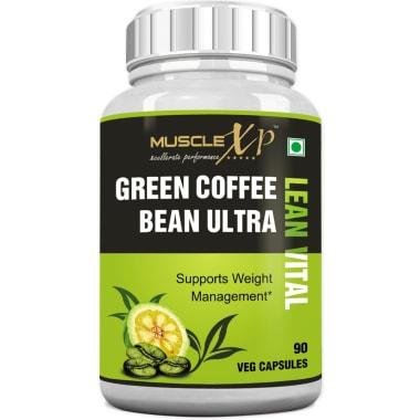 MuscleXP Green Coffee Bean Ultra Lean Vital Capsule