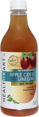 HealthKart Apple Cider Vinegar with Mother, Unfiltered, Unpasteurized
