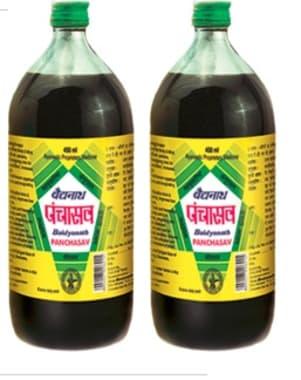 Baidyanath Panchasava Syrup Pack of 2