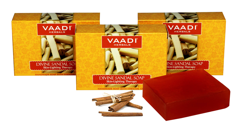 Health & Beauty Vaadi Herbals Super Value Luxurious Saffron Soap Skin Whitening Therapy 75gm Bath & Body