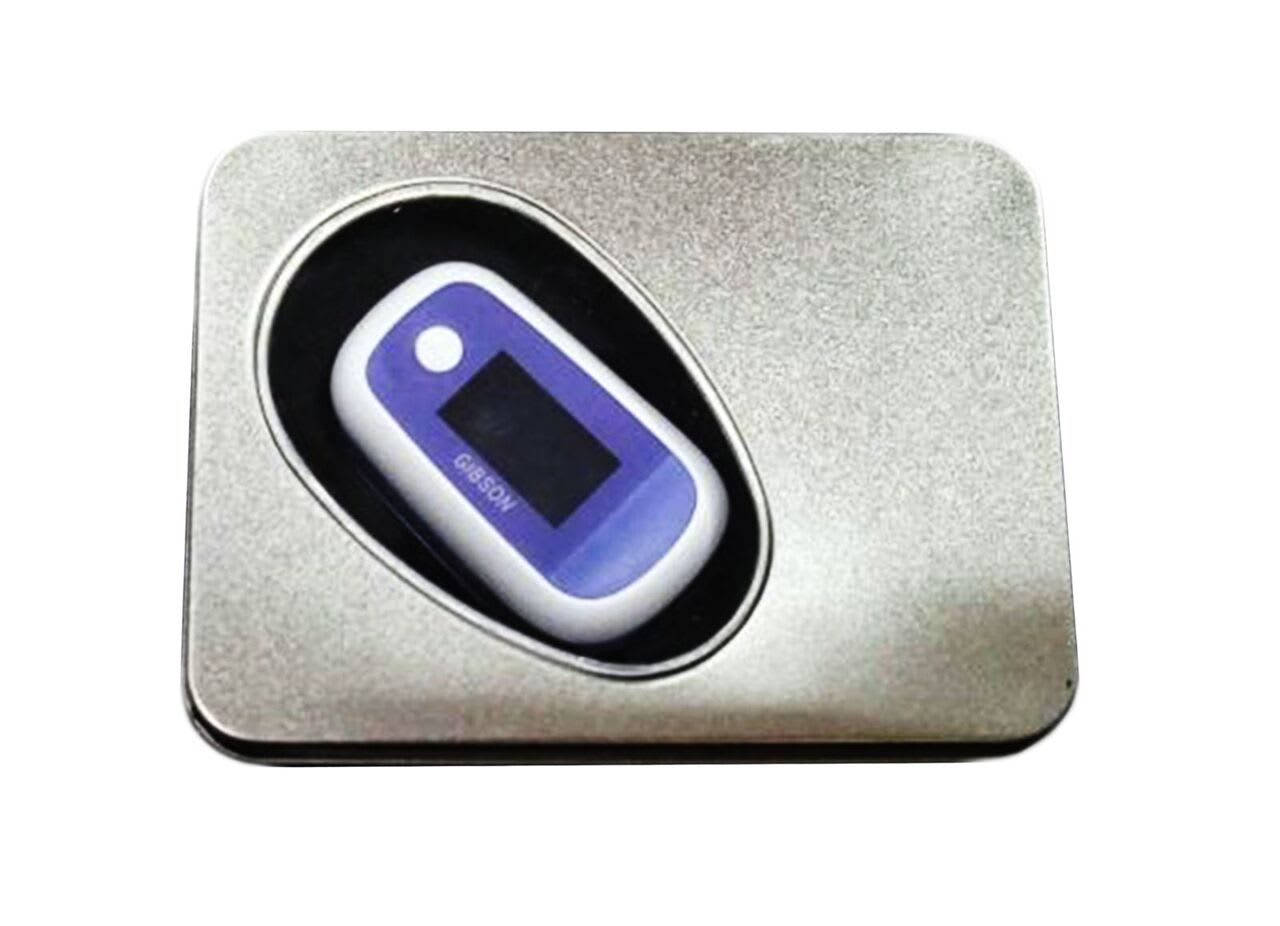 Gibson Fingertip Pulse Oximeter with Tin Packing