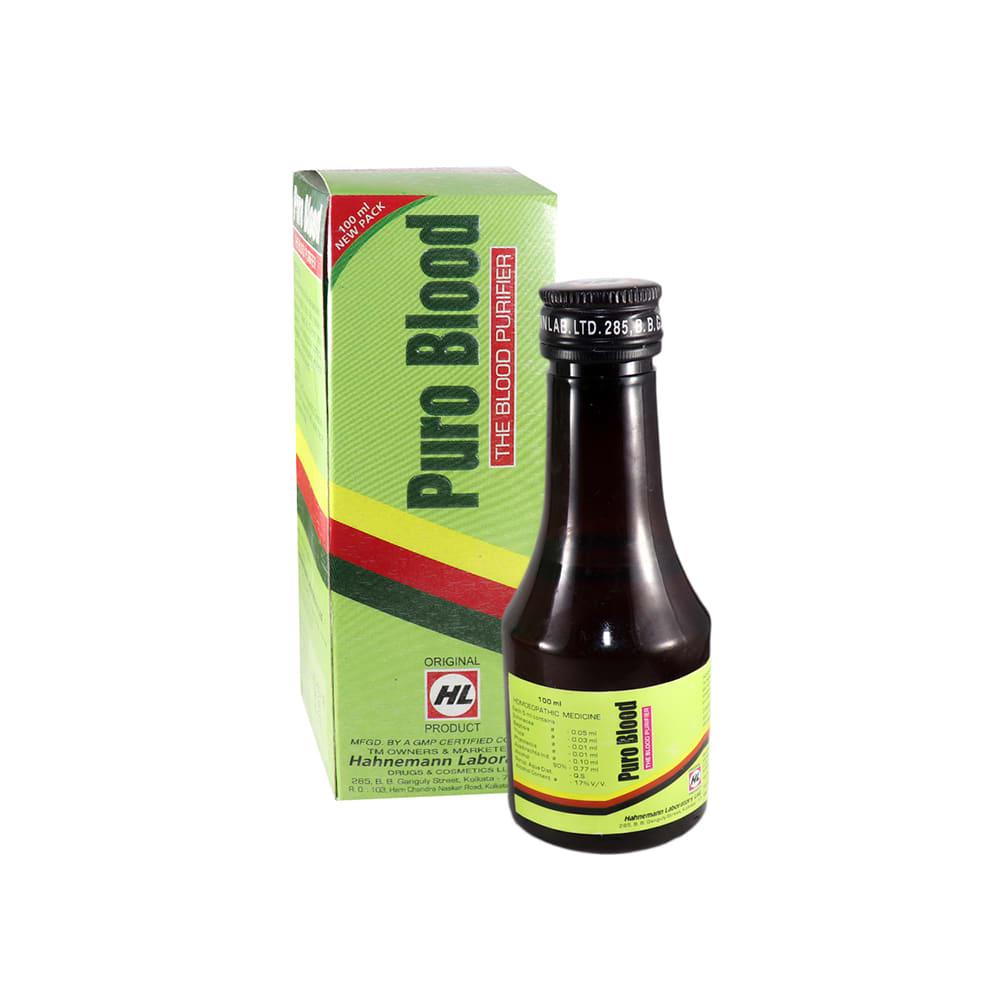 Hahnemann Labs Puro Blood Tonic