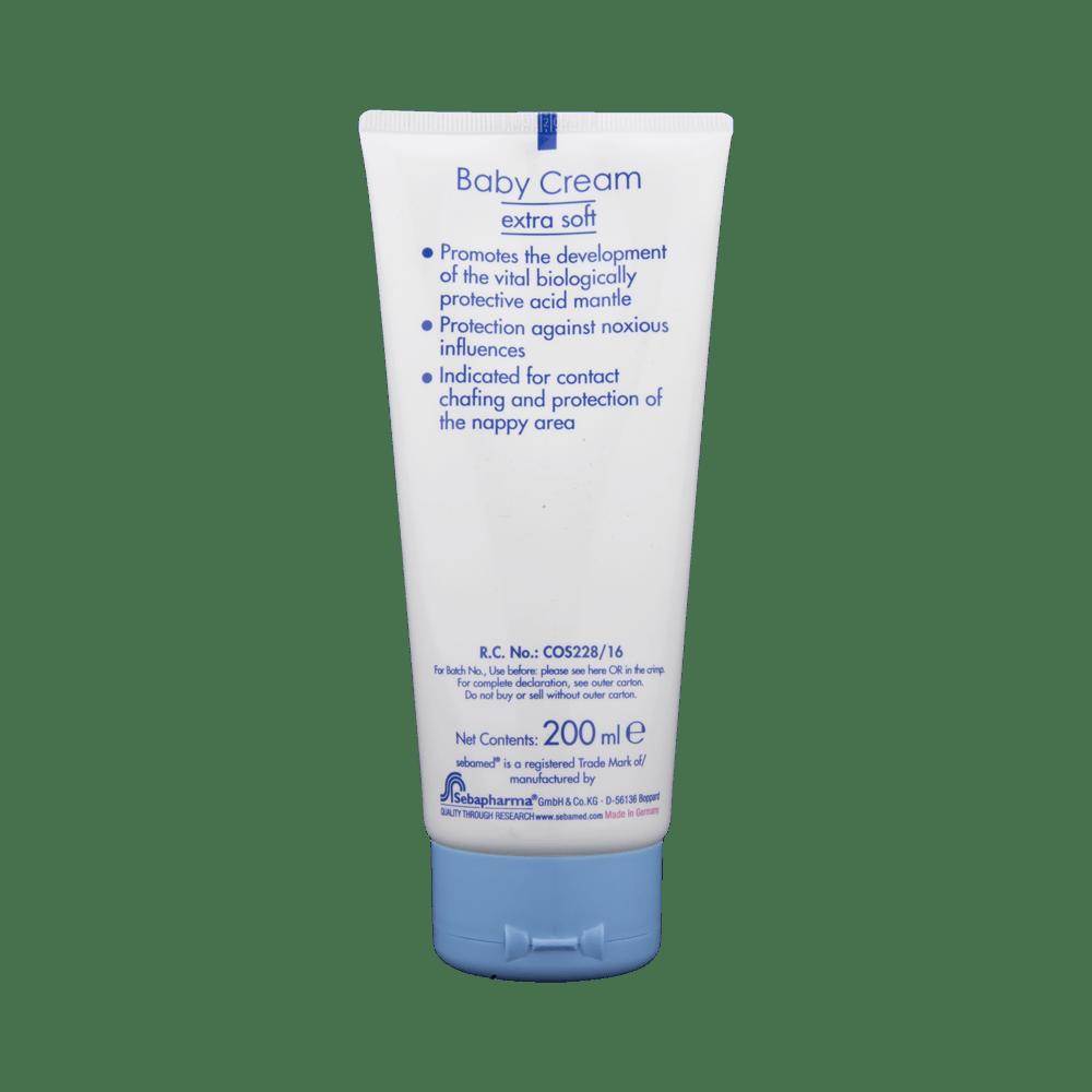 Sebamed Baby Cream Extra Soft Buy 200 Ml At Best Price In Diaper Rash 100ml India 1mg