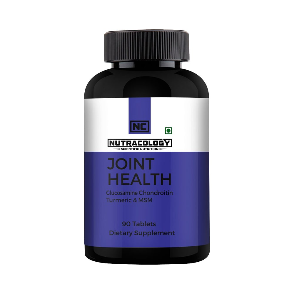 Nutracology Joint Health Glucosamine Chondoritin Turmeric & MSM Tablet