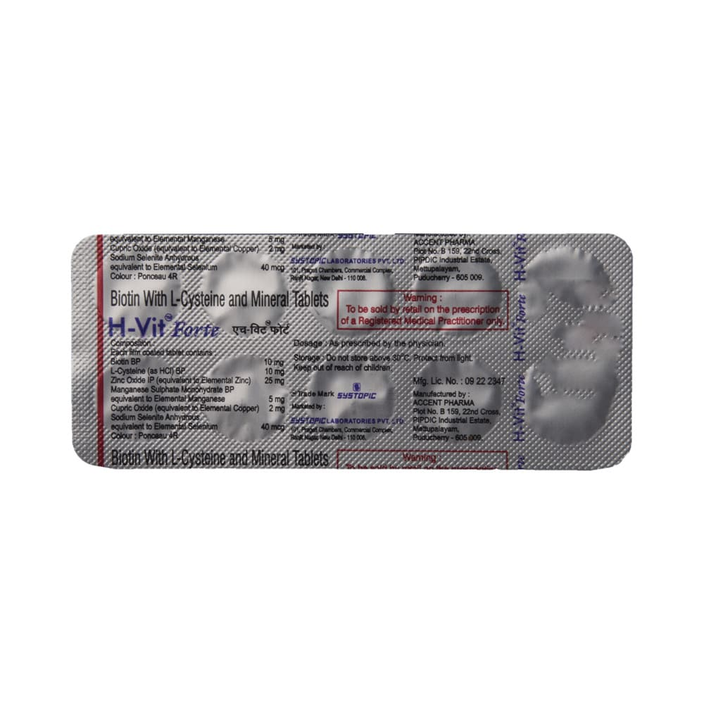 00be252a4389 H-vit forte tablet: buy 10 tablets at best price in india | 1mg