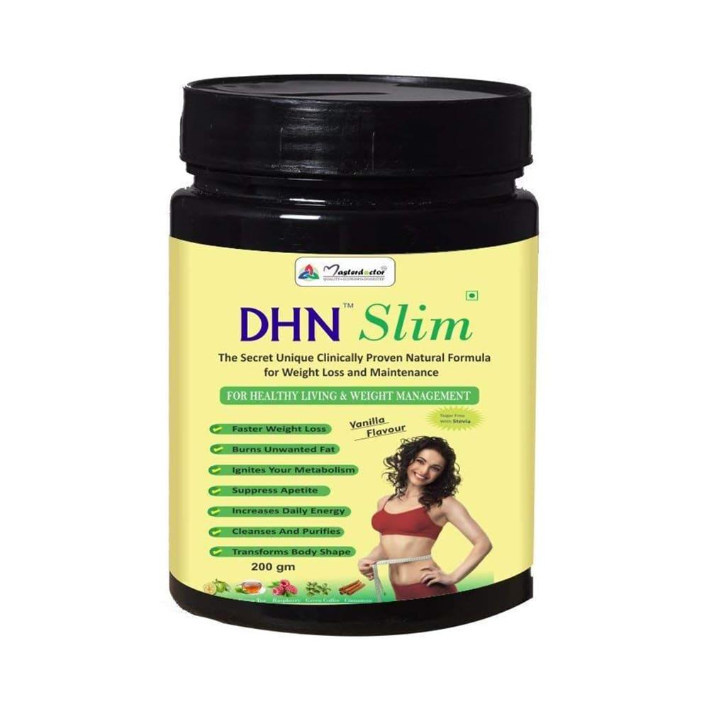 Masterdoctor Dhn Slim Powder Weight Lose Powder For Men Women Vanilla