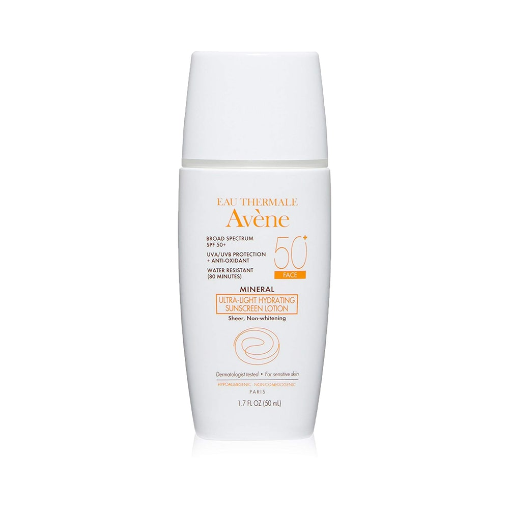 87b89ea9da0b Avene mineral ultra light plus hydrating sunscreen lotion spf 50: buy 50 ml  lotion at best price in india   1mg
