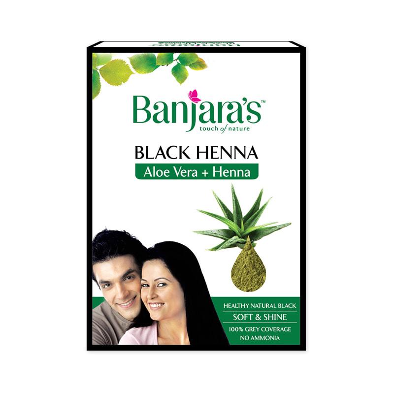 719e3c0ed Banjara's black henna aloevera: buy 50 gm powder at best price in india |  1mg