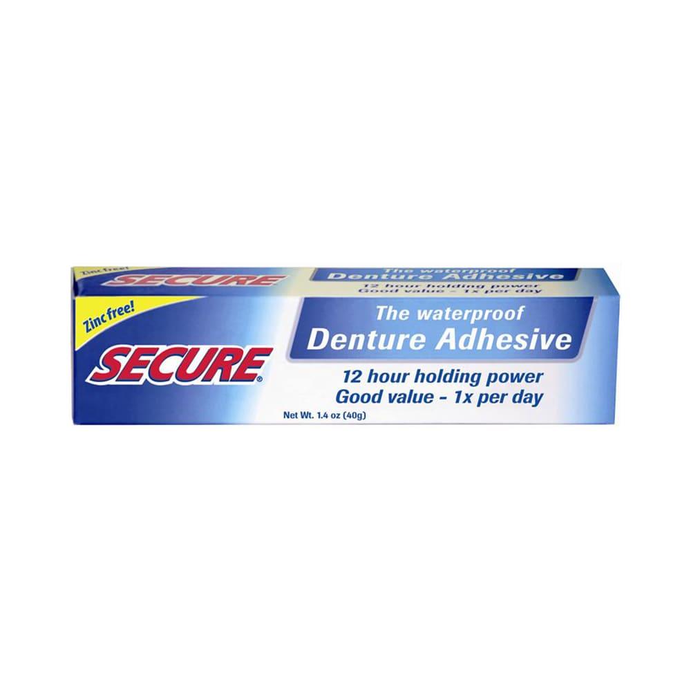 Secure Denture Adhesive >> Secure Denture Adhesive Cream
