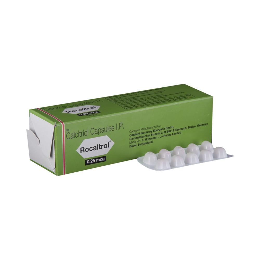 Rocaltrol Capsule Buy 10 Soft Gelatin Capsules At Best Price In