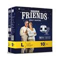 Friends Overnight Adult Diaper L Pack of 8