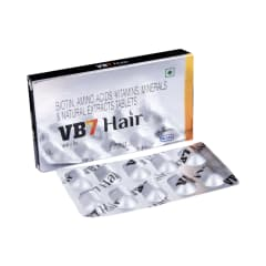 0ee40da8f10e Vb7 hair tablet: buy 10 tablets at best price in india | 1mg