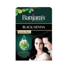 e51d2752b Banjara's black henna brazilian black: buy 54 gm powder at best ...
