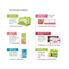 50f7066ff6 Peebuddy premium travel hygiene kit for her  buy 1 kit at best price ...