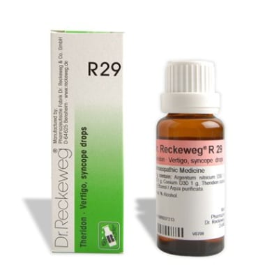 Dr. Reckeweg R29 Vertigo And Syncope Drop