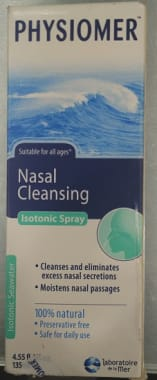 Physiomer Isotonic Nasal Spray