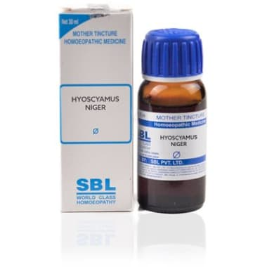 SBL Hyoscyamus Niger Mother Tincture Q