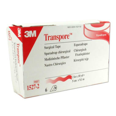 3M Transpore 1527-2, 2 inch x 10 yard