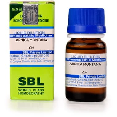 SBL Arnica Montana Dilution CM CH