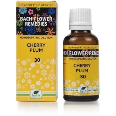 New Life Bach Flower Cherry Plum 30