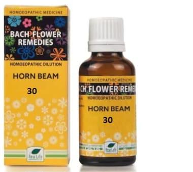 New Life Bach Flower Horn Beam 30