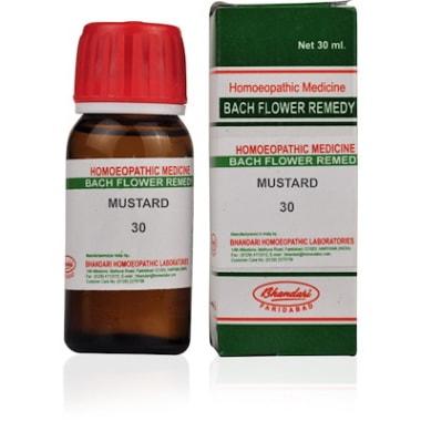 Bhandari Bach Flower Mustard 30