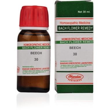 Bhandari Bach Flower Beech 30