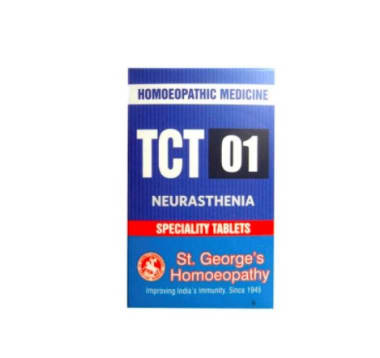 St. George's TCT 01 Neurasthenia Tablet
