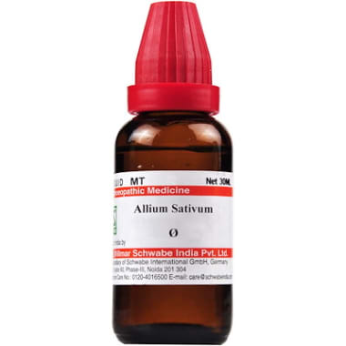 Dr Willmar Schwabe India Allium Sativum Mother Tincture Q