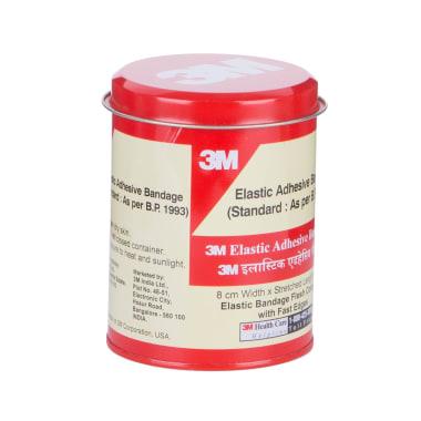 3M Elastic Adhesive Bandage 8 cm x 4/6 m