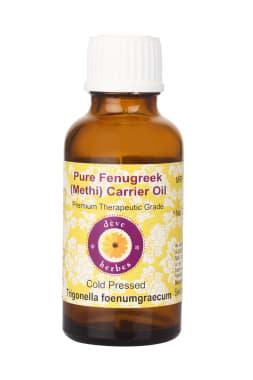 Deve Herbes Pure Fenugreek (Methi) Carrier Oil