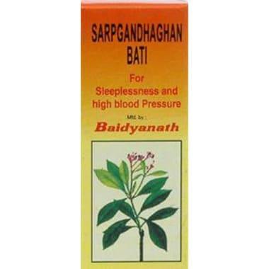 Baidyanath Sarpgandhaghan Bati