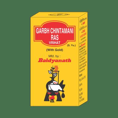Baidyanath Garbh Chintamani Ras Vrihat with Gold
