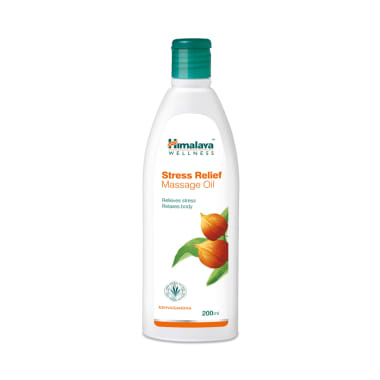 Himalaya Wellness Stress Relief Massage Oil
