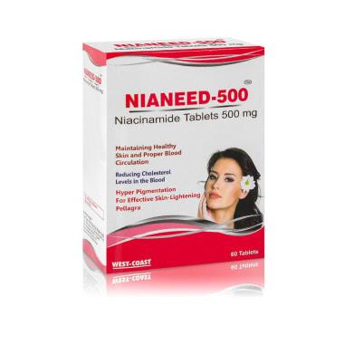 West-Coast Nianeed 500 Niacinamide Tablet