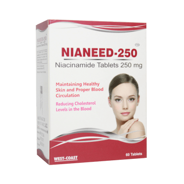 West-Coast Nianeed 250 Niacinamide Tablet