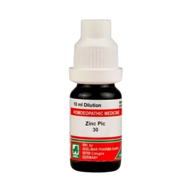 ADEL Zinc Pic Dilution 30 CH