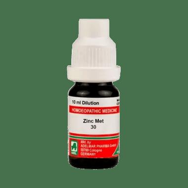 ADEL Zinc Met Dilution 30 CH
