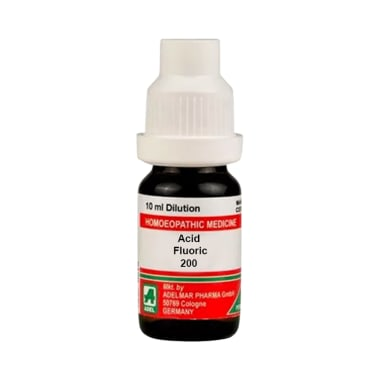ADEL Acid Fluoric Dilution 200 CH
