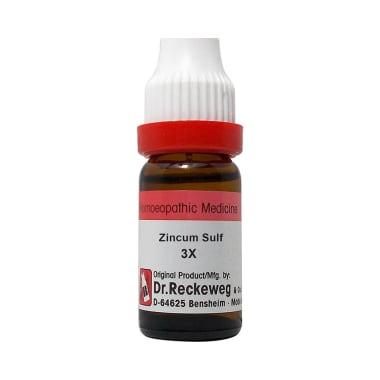 Dr. Reckeweg Zincum Sulf Dilution 3X