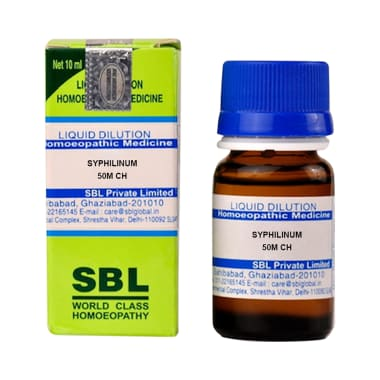 SBL Syphilinum Dilution 50M CH