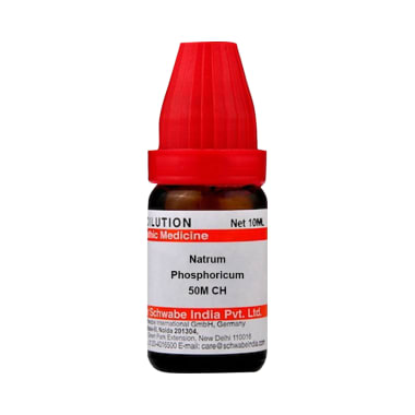 Dr Willmar Schwabe India Natrum Phosphoricum Dilution 50M CH