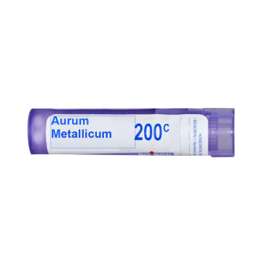 Boiron Aurum Metallicum Multi Dose Approx 80 Pellets 200 CH