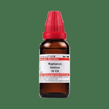 Dr Willmar Schwabe India Raphanus Sativus Dilution 30 CH