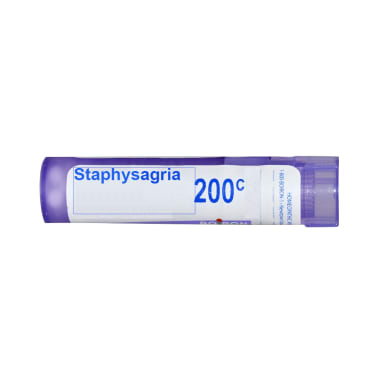 Boiron Staphysagria Pellets 200C