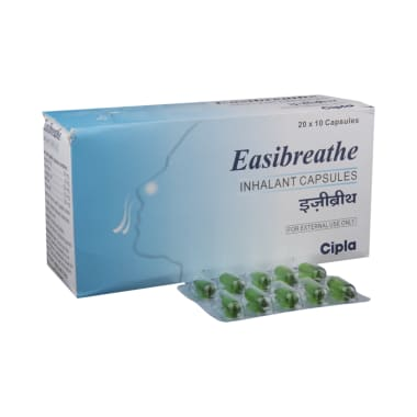 Easi Breathe Inhalant Capsule